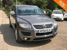 Volkswagen Touareg 3.0TDI V6 auto 2008 Altitude, 96.000 MILES, LEATHER/NAV....