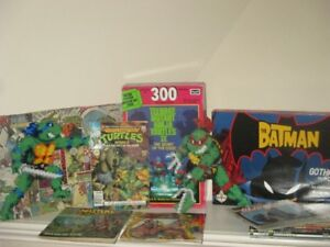 HUGE lot He-man Ninja Turtles Star Wars Batman G.I. Joe etc