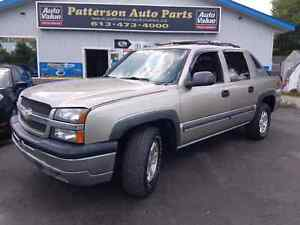 2003 chevy avalanche 4x4 leather Certified etested