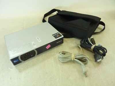Sony Vpl-cx21 Data Projector W/ Case