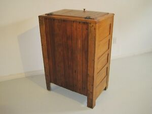 Old Wooden Icebox London Ontario image 5