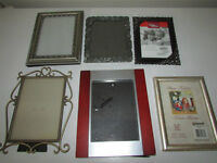 FRAMES 8x10 AND 5x7