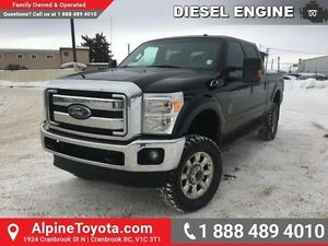 2014 Ford F-350 Super Duty LARIAT   Diesel, leather, nav, sunroo
