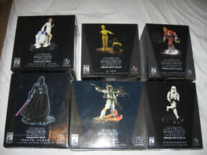 Star Wars Gentle Giant Limited edition Animated Statues