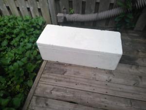 3 ft Styrofoam cooler