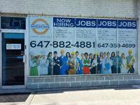JOBS JOBS JOBS  Industrial Support