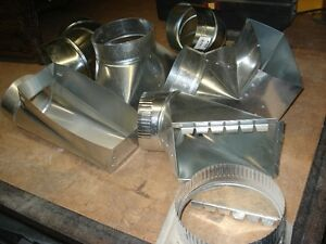 Sheet Metal / Heating Shop is Closing. Furnace Fittings For Sale