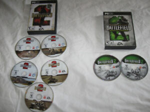 Battlefield Deluxe & Expansion Pack Special Forces -Lot $5