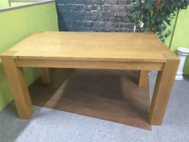 6 - 8 Seater Rectangular Dining / Kitchen Table - Can Deliver For FREE Locally On Orders Over £100