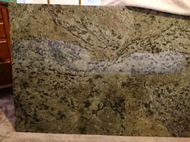 Beautiful solid granite worktop