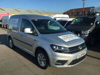 2016 16 VOLKSWAGEN CADDY 2.0TDI BLUEMOTION 1 COMPANY OWNER ONLY 5,000 MILES