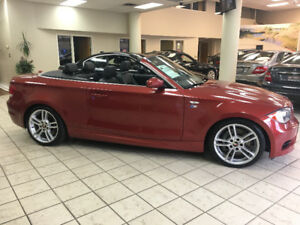 2009 BMW 135i Convertible 6 SPEED Twin Turbo! Complete M package
