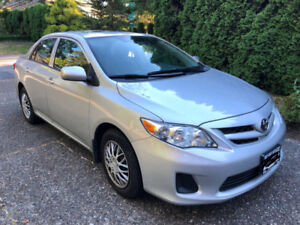 2013 Toyota Corolla | 4-Door Sedan CE | Silver