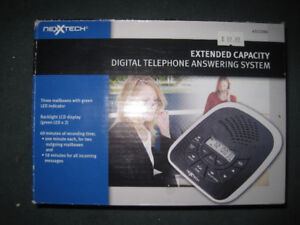 [NEW] NEXXTECH EXTENDED CAPACITY DIGITAL ANSWERING SYSTEM