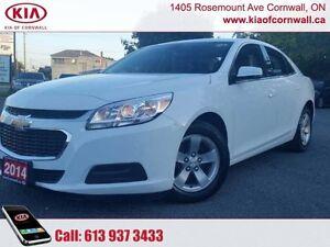 2014 Chevrolet Malibu 1LT  | Bruised Credit? Need a Car? Call Us