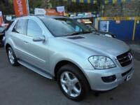 2007 07 MERCEDES ML280 3.0 TD EDITION S AUTO IN SILVER # FULL MERC HISTORY #