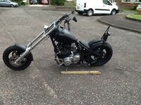 Hard tail chopper for sale or swap