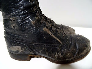 VICTORIAN child's lace-up shoes boots STEAMPUNK KIDS! Tiny Tim Cambridge Kitchener Area image 4