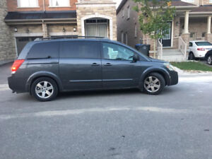 Selling Nissan Quest for Parts