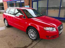 2007 Audi A4 Avant 2.0TDI ( 170PS ) - 3 Stamp - MOT UNTIL: 15 Jun 2018