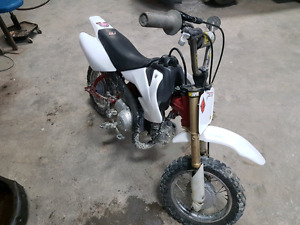 2007 crf50 with upgrades