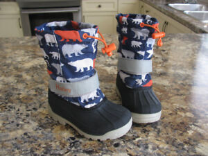 Hatley winter boots, boys, toddler size 9