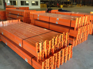 LOW COST PALLET RACKING FOR SALE. BEST PRICES IN ONTARIO.