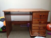 Wooden desk for work or school - offers accepted