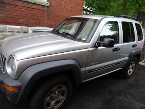 2004 Jeep Liberty - AS IS