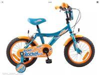 "14"" boys rocket pushbike bran new"