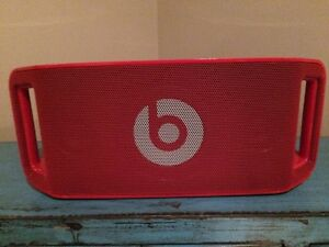 Red Beats by Dr. Dre Portable Bluetooth Speaker