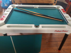 Fisher Price Games table - hockey, pool, pingpong