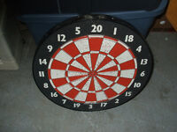 dart board double sided