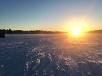 Looking for a partner ICE FISHING ICE HUT BUNGALOW BUSINESS