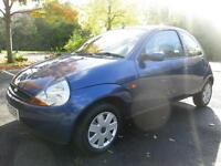 08/08 FORD KA STYLE 1.3 3DR HATCH IN BLUE (P/X TO CLEAR)