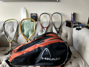 Squash, Racketball rackets and gear, Hi quality