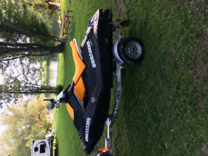 2018 Sea Doo Spark. 2 seater.                      Less than 12h