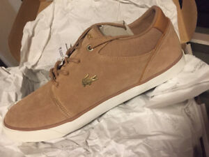 Brand New Lacoste Bayliss Suede Sneakers - Sz 9.5