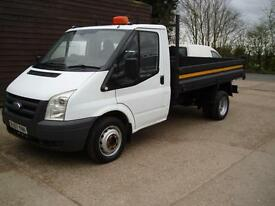57 REG FORD TRANSIT TIPPER 2.4 TDCI 100T350 3500 KG GVW 2007 1 PREVIOUS OWNER