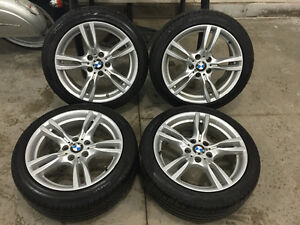 18 inch m sport wheels & brand new Pirelli run flat tires