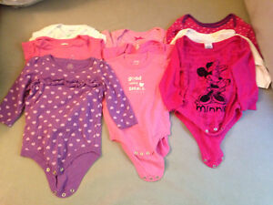 Baby Clothes Lot NB-24m and Receiving Blankets
