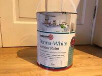 Zinsser white paints 5l