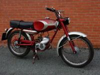 DUCATI SL48 1966 48cc PEDAL MOPED - VERY RARE COLLECTORS CLASSIC - see video