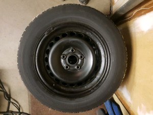 4x 205/60R15 TOYO Winter Tires and Rims