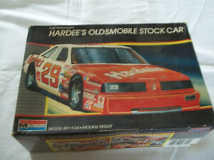 Cale Yarbourgh's Hardees Oldsmobile Stockcar model