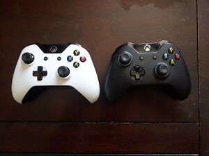 Selling 2 Xbox one controllers. $50 each or $90 for the pair.
