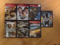 Selling 28 PS2 games. $2.00 +up per Title. $130.00 for the Lot.