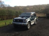 Pajero spares or repair