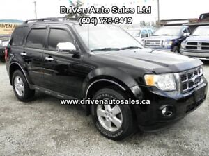 2009 Ford Escape Limited XLT Leather Sunroof 4WD SUV, Crossover