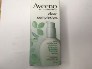 Aveeno Clear Complexion Acne Face Moisturizer for Sensitive Skin